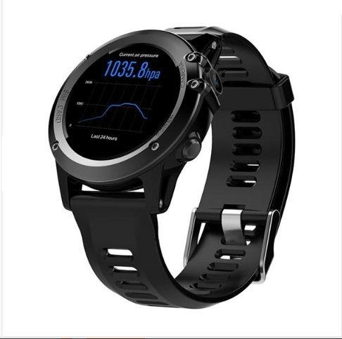 Microwear H1 1.39inch Super AMOLED 4GB GPS 3G WiFi Camera IP68 Heart Rate Monitor Smart Watch