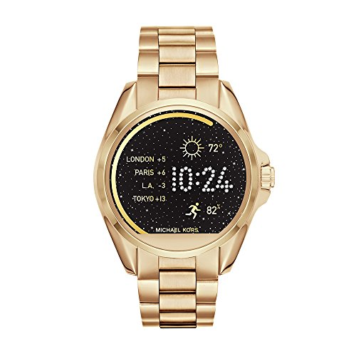 Michael Kors Access, Women's Smartwatch, Bradshaw Gold-Tone Stainless Steel, MKT5001
