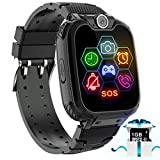 Smart Watch for Kids - Kids Smartwatch Boys Girls Kids Smart Watches with Call Camera 7 Children Learning Games Alarm Clock Music Player Calculator for 4-12 Years Kids Electronic Learning Toys