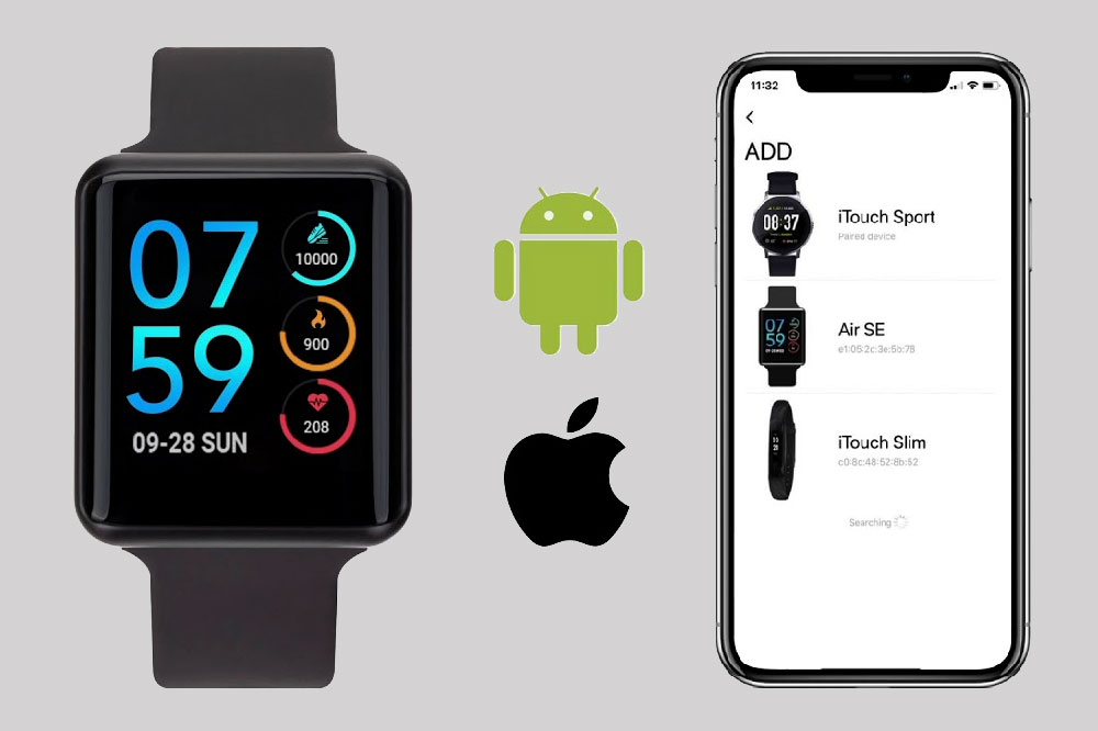 iTouch Air Smartwatch Review